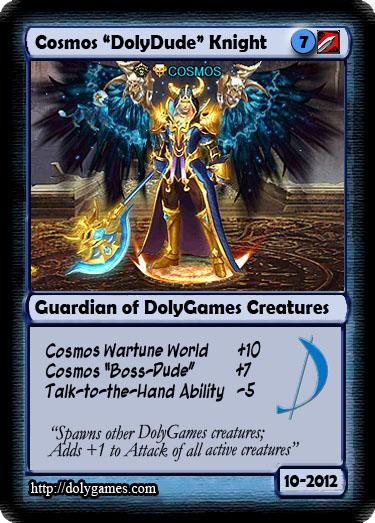 DolyGames Team Cards