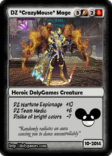 DolyGames Team Cards - DZmage