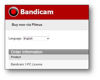 bandicam license buy