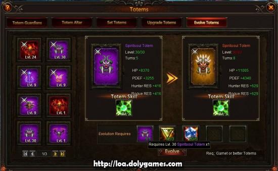 Evolving Totems Guide