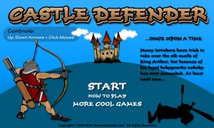 Castle Defender game (1)