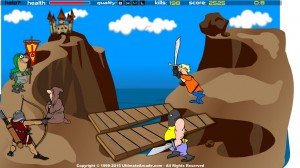 Castle Defender game (3)