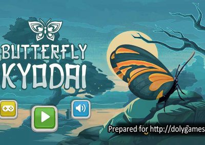 Butterfly Kyodai logo - PLAY FREE