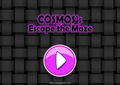 Cosmos's Maze Puzzle 1 game screenshot. DolyGames
