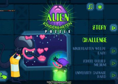 Alien Kindergarten - Puzzle - PLAY FREE 1