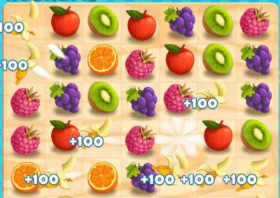 Juicy Dash 10 matching puzzle game
