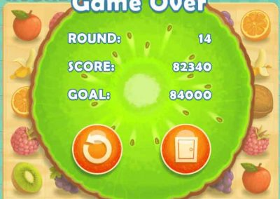 Juicy Dash 12 matching puzzle game