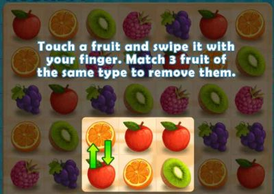 Juicy Dash 2 matching puzzle game