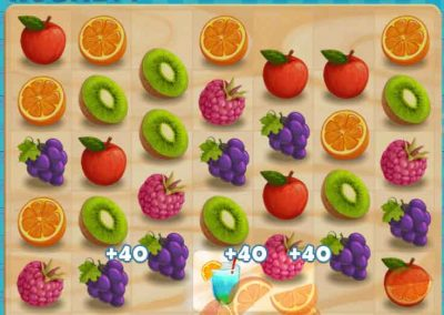Juicy Dash 3 matching puzzle game