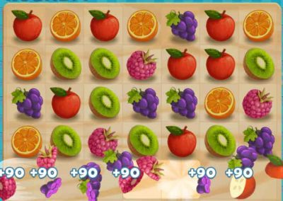 Juicy Dash 4 matching puzzle game
