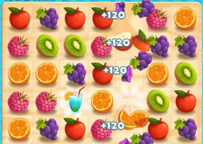 Juicy Dash 5 matching puzzle game