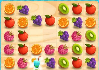 Juicy Dash 6 matching puzzle game