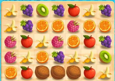 Juicy Dash 8 matching puzzle game
