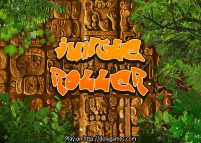 Jungle Roller puzzle game 1