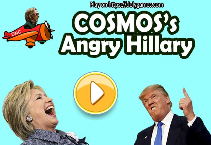 COSMOS's Angry Hillary game banner 1