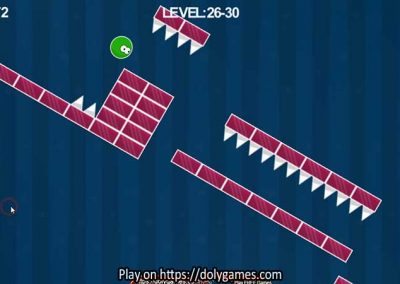 Green Ball Fun Tapping Platformer PLAY FREE DolyGames 1