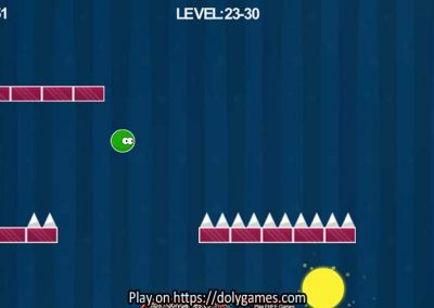 Green Ball Fun Tapping Platformer PLAY FREE DolyGames 2