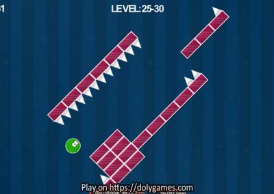Green Ball Fun Tapping Platformer PLAY FREE DolyGames 3