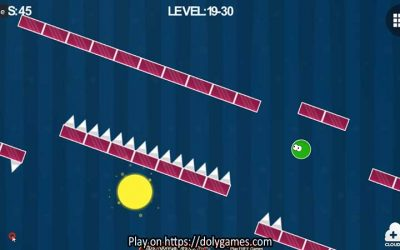 Green Ball – Fun Tapping Platformer – PLAY FREE (Not for Safari)