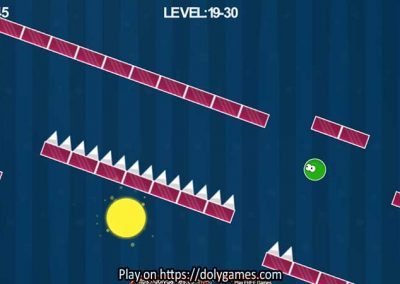 Green Ball Fun Tapping Platformer PLAY FREE DolyGames 4