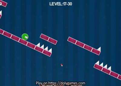 Green Ball Fun Tapping Platformer PLAY FREE DolyGames 5