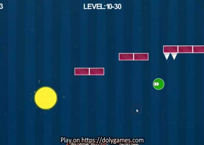 Green Ball Fun Tapping Platformer PLAY FREE DolyGames 6