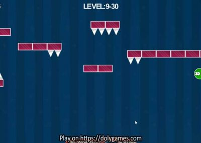 Green Ball Fun Tapping Platformer PLAY FREE DolyGames 7