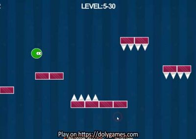 Green Ball Fun Tapping Platformer PLAY FREE DolyGames 8