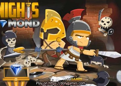 Knights Diamond Adventure PLAY FREE DolyGames 1