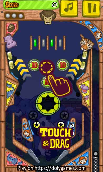 Zoo Pinball PLAY FREE online DolyGames 1