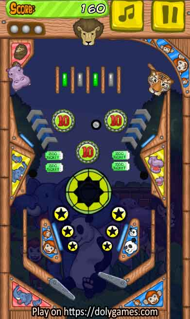 Zoo Pinball PLAY FREE online DolyGames 3