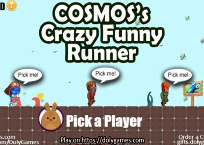 COSMOS's Crazy Funny Runner v1.3 Play Free DolyGames 1