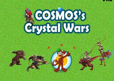 COSMOS's Crystal Wars strategy game 1